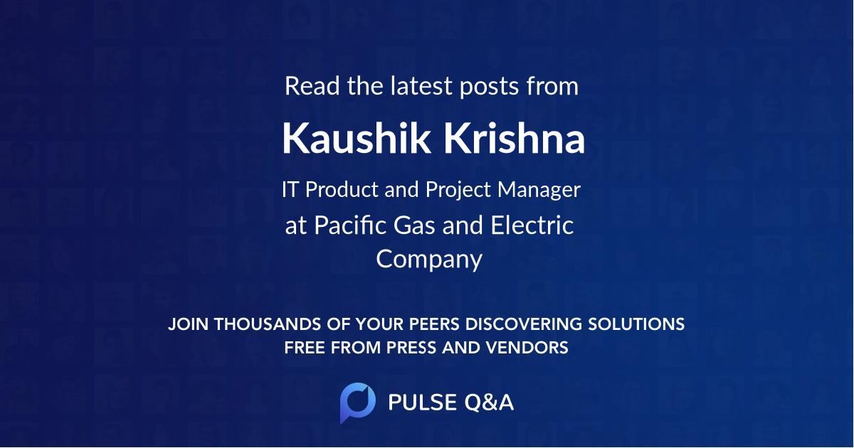 Kaushik Krishna