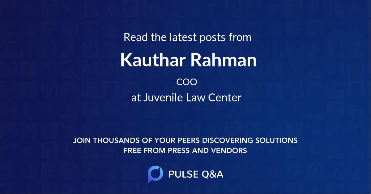 Kauthar Rahman
