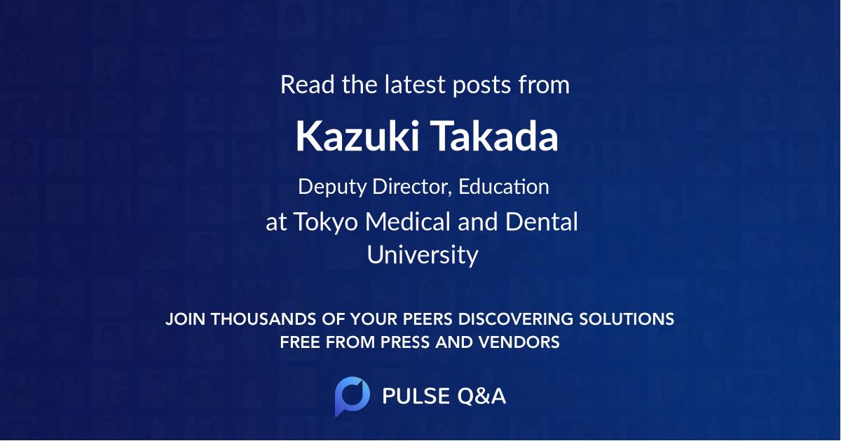 Kazuki Takada