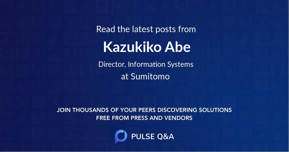 Kazukiko Abe