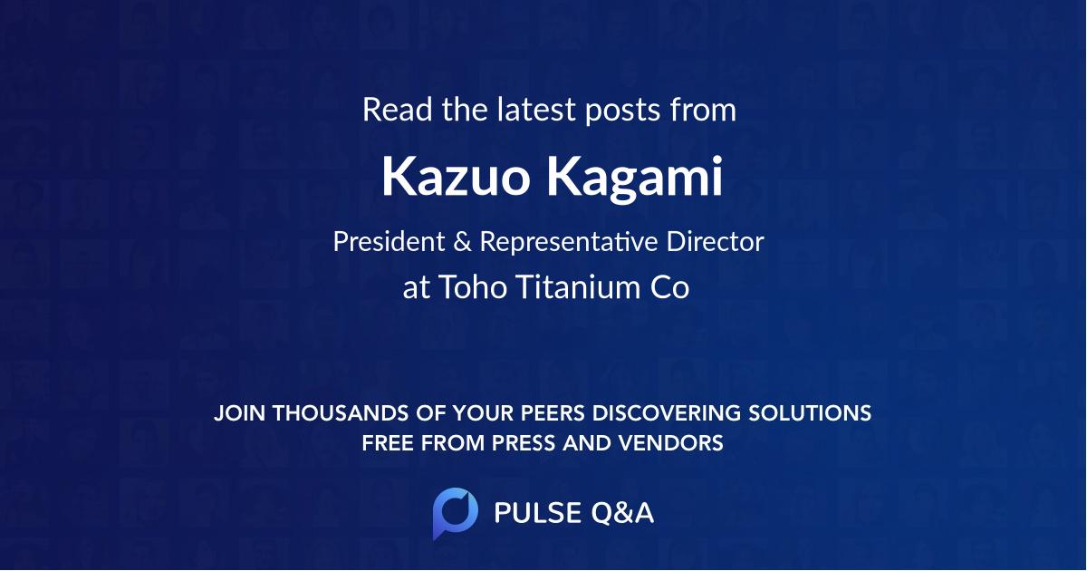 Kazuo Kagami
