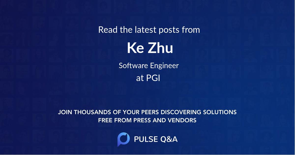 Ke Zhu