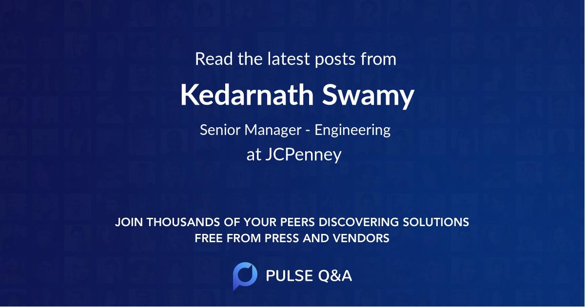 Kedarnath Swamy