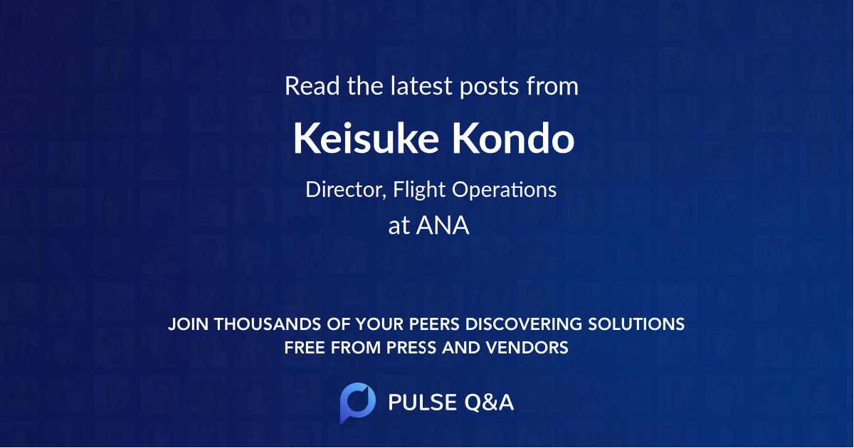 Keisuke Kondo