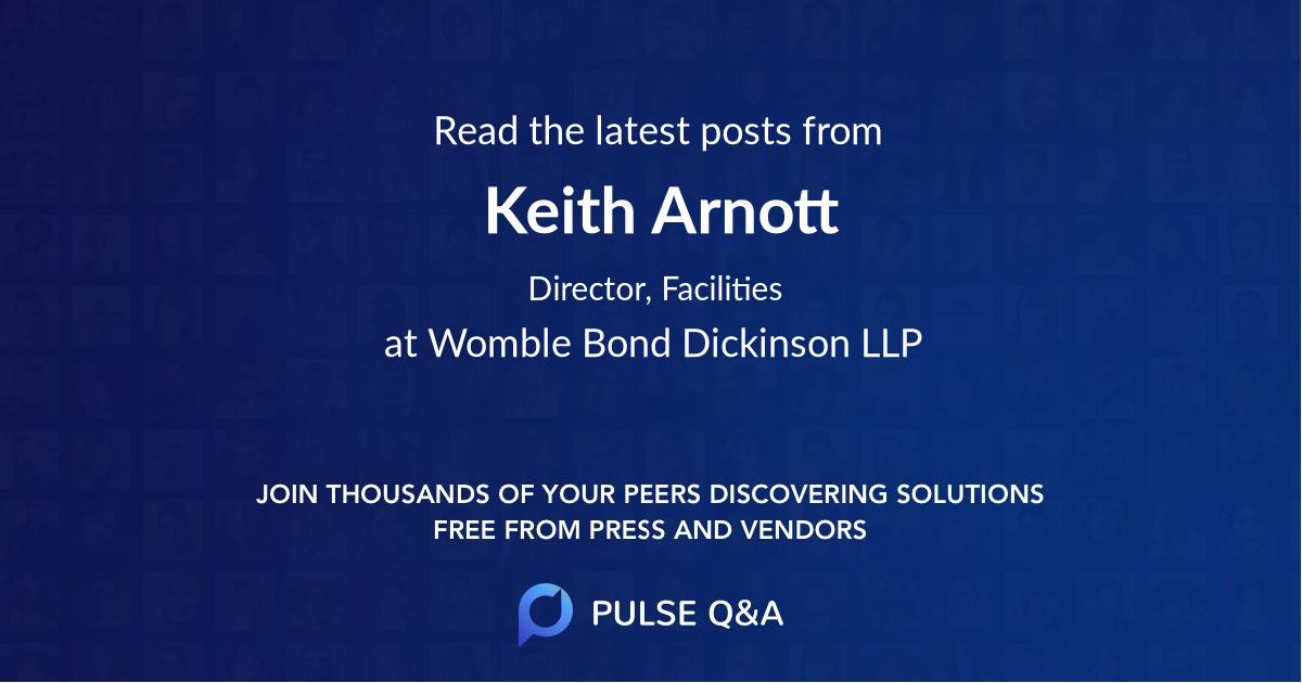 Keith Arnott