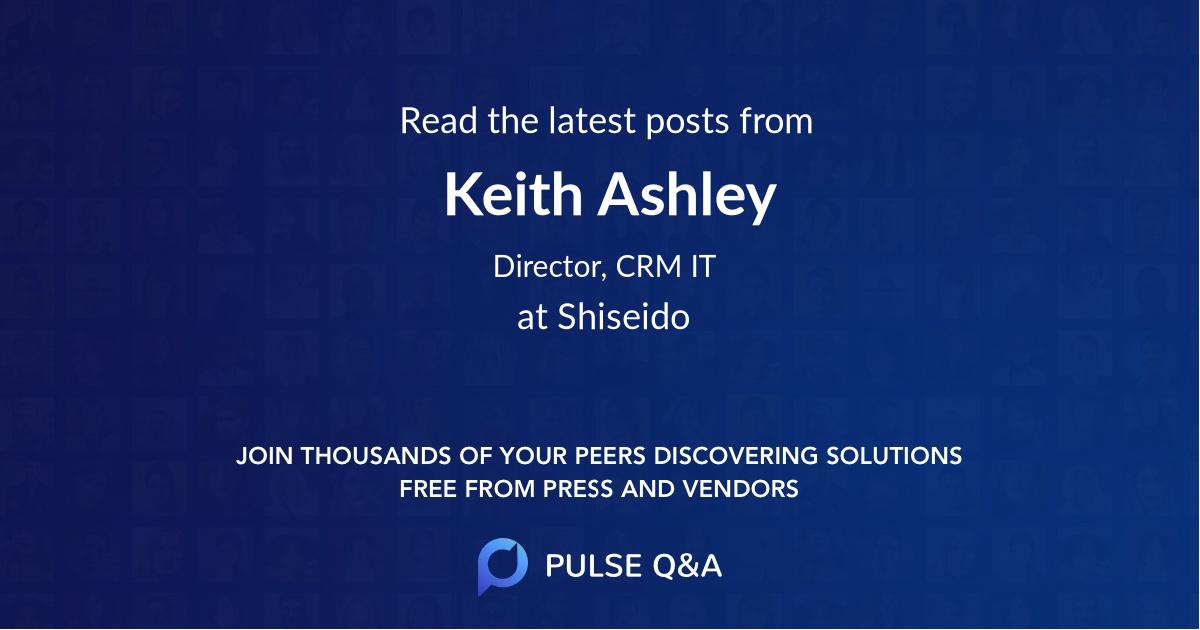 Keith Ashley