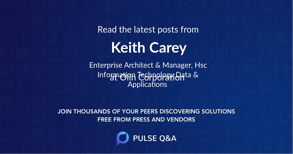 Keith Carey