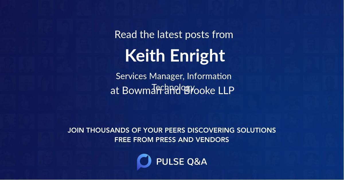 Keith Enright