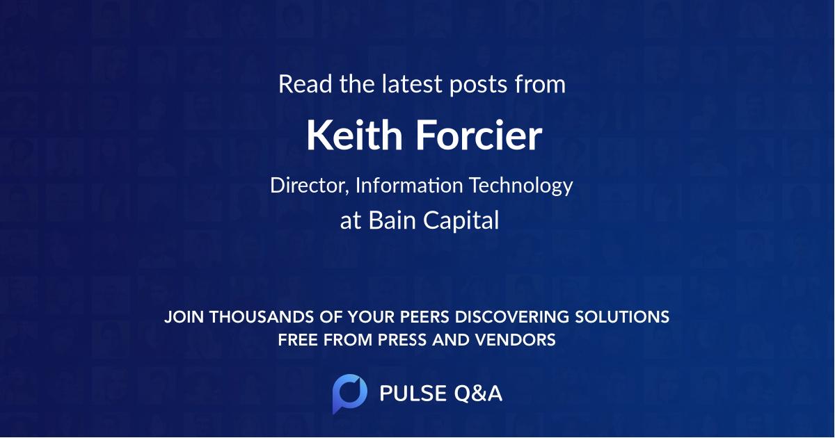 Keith Forcier