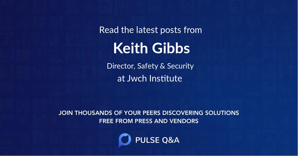 Keith Gibbs
