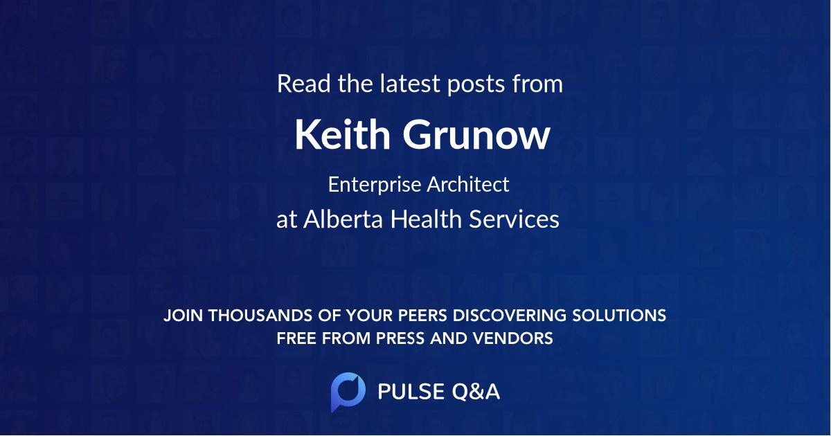 Keith Grunow