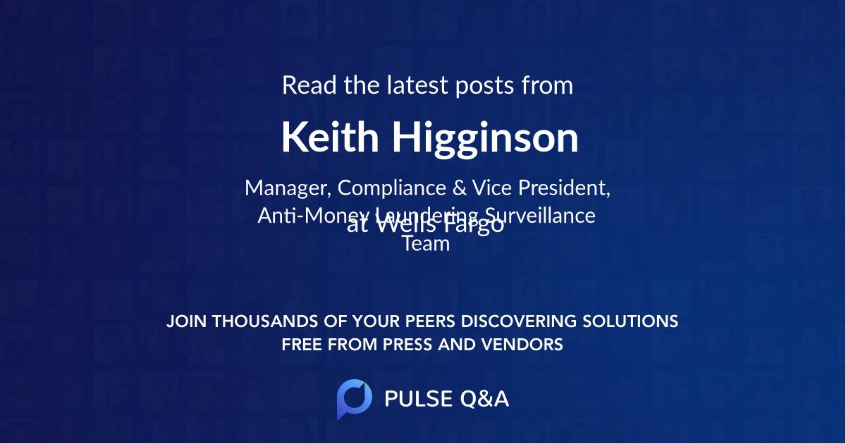 Keith Higginson