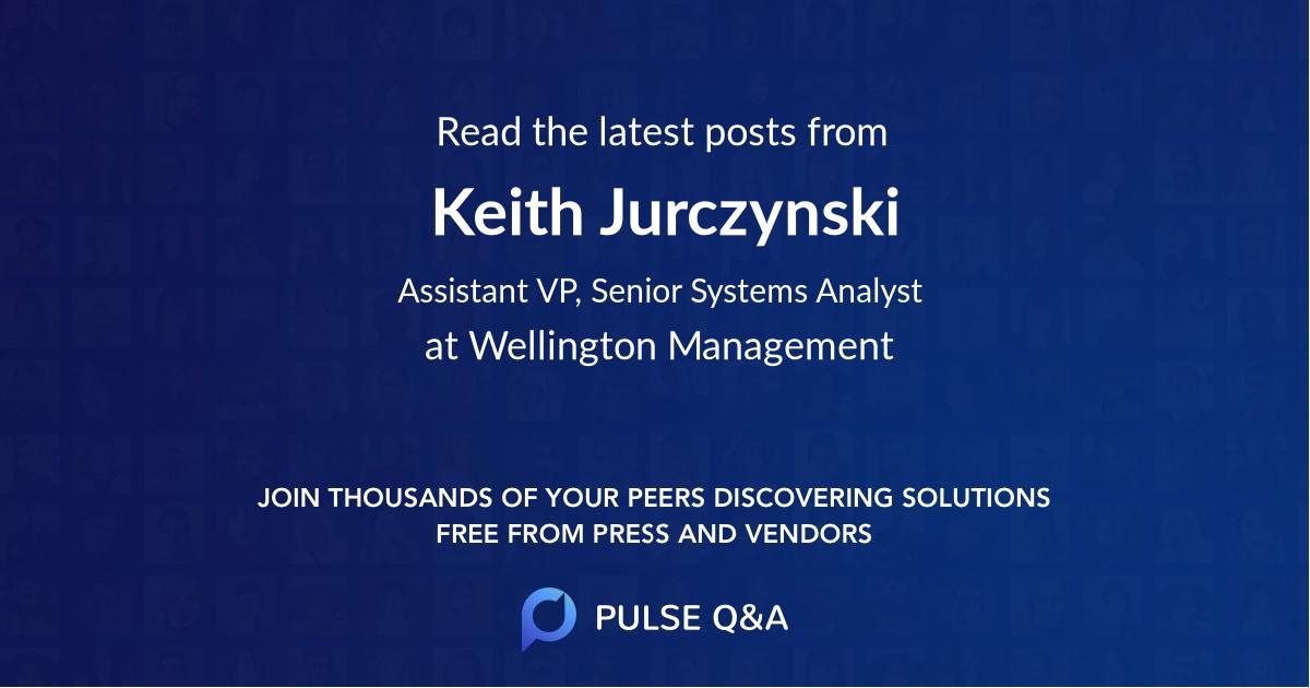 Keith Jurczynski