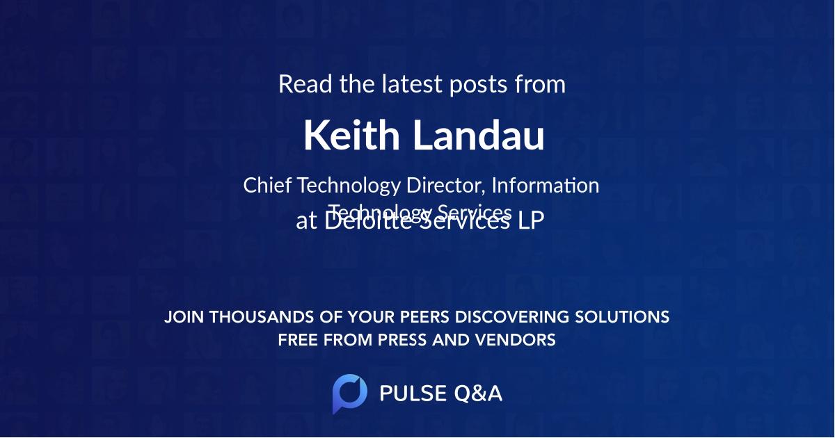 Keith Landau