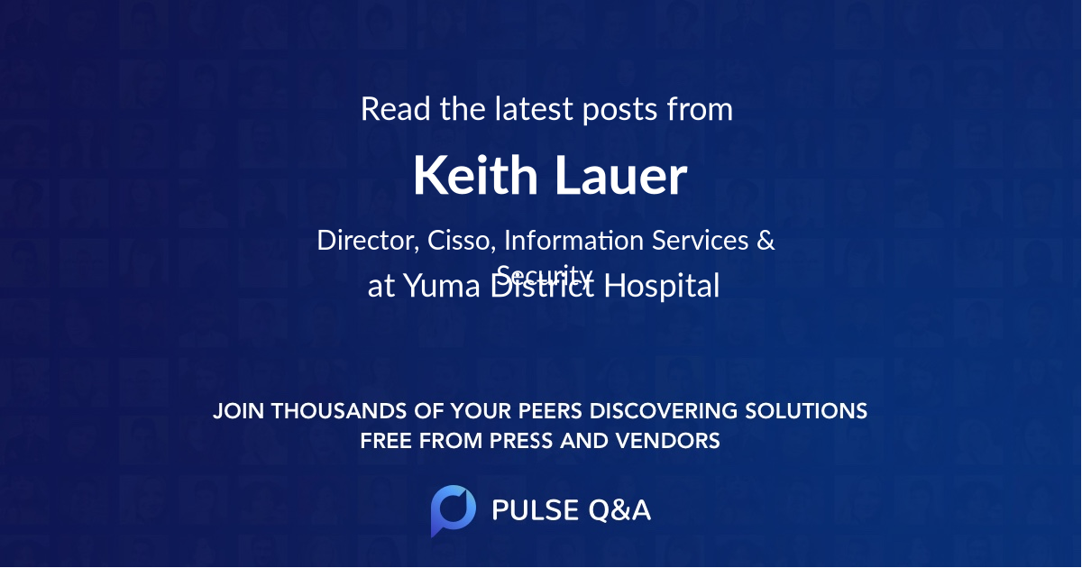 Keith Lauer