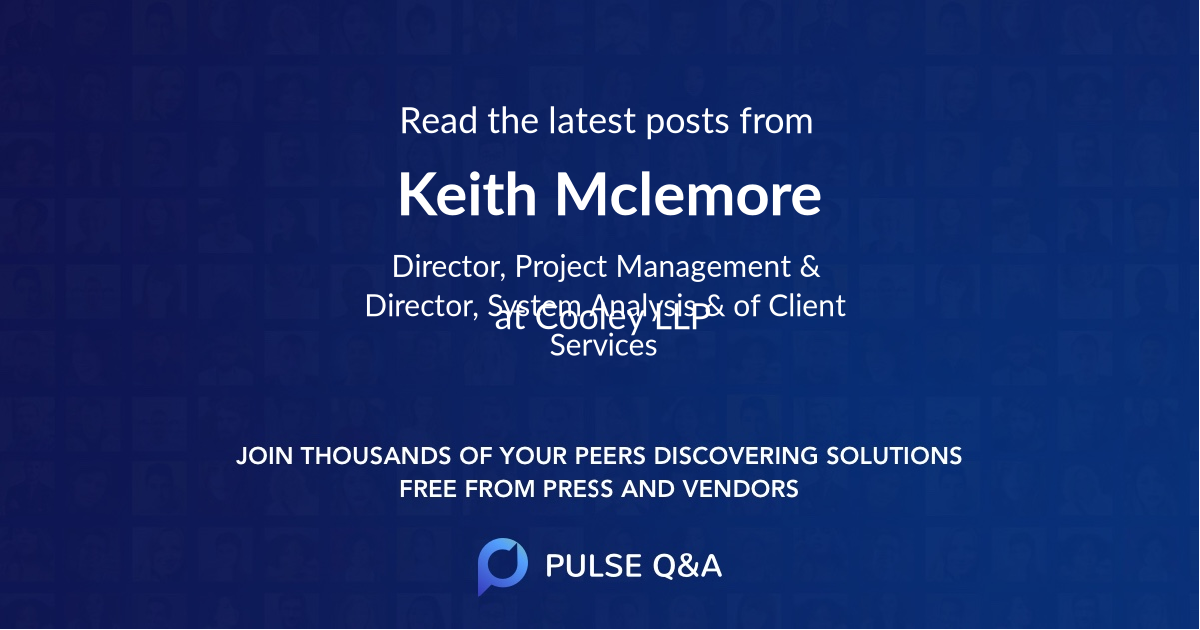 Keith Mclemore