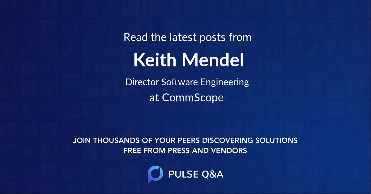 Keith Mendel