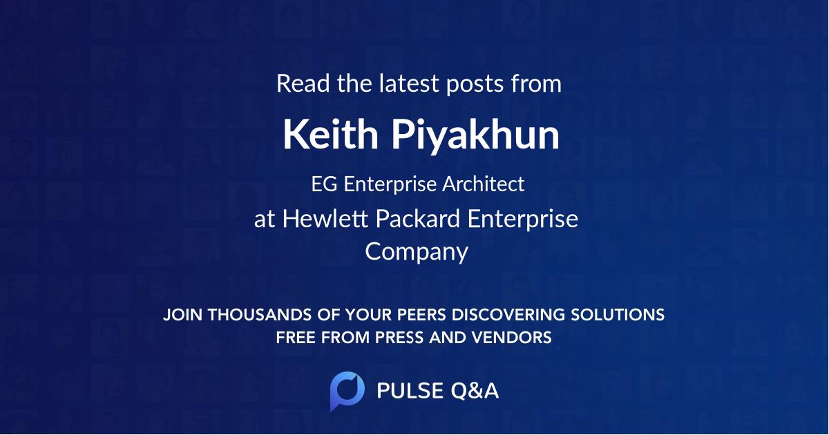 Keith Piyakhun