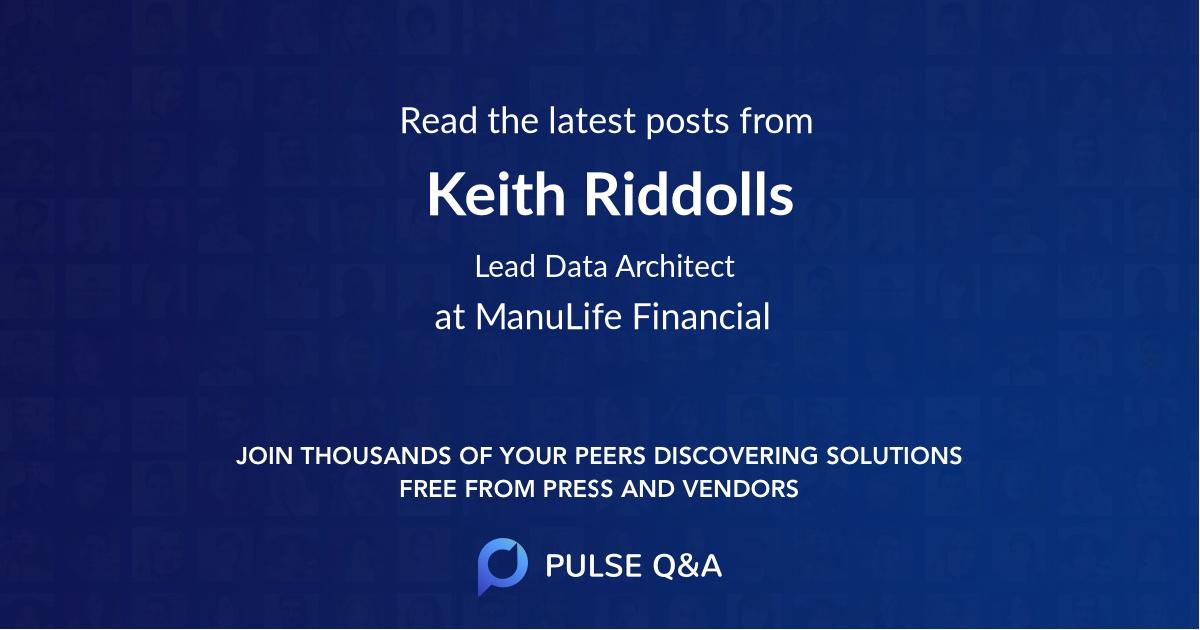 Keith Riddolls