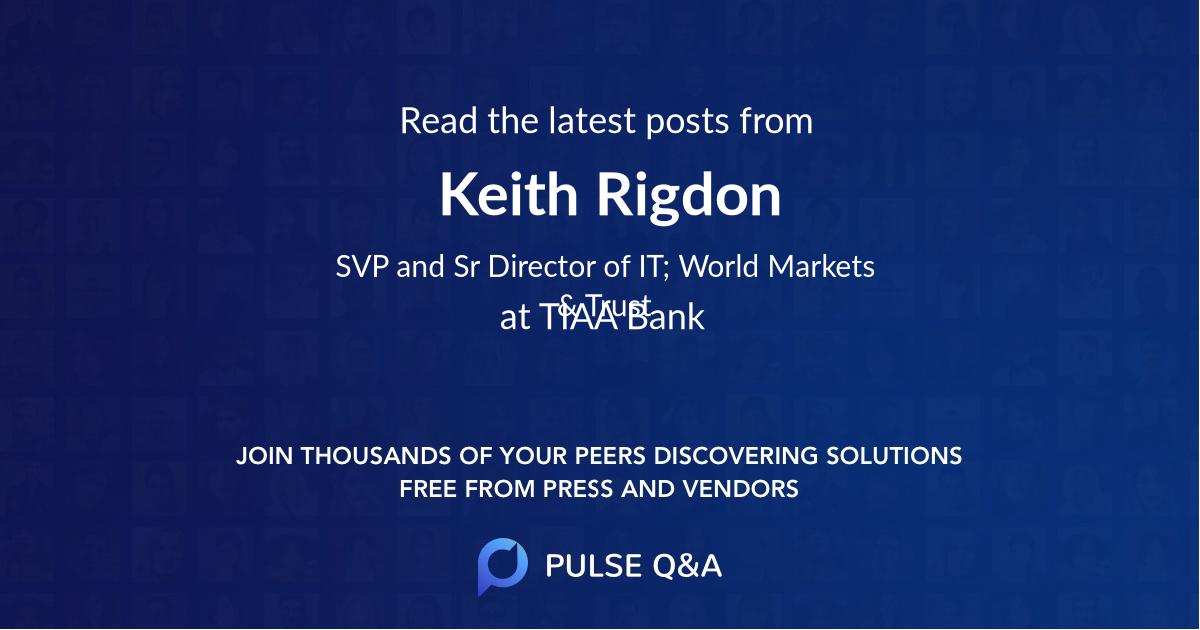 Keith Rigdon