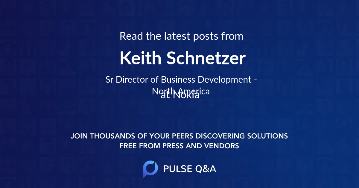 Keith Schnetzer
