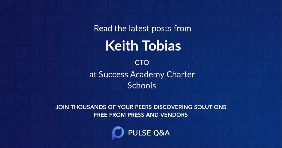 Keith Tobias