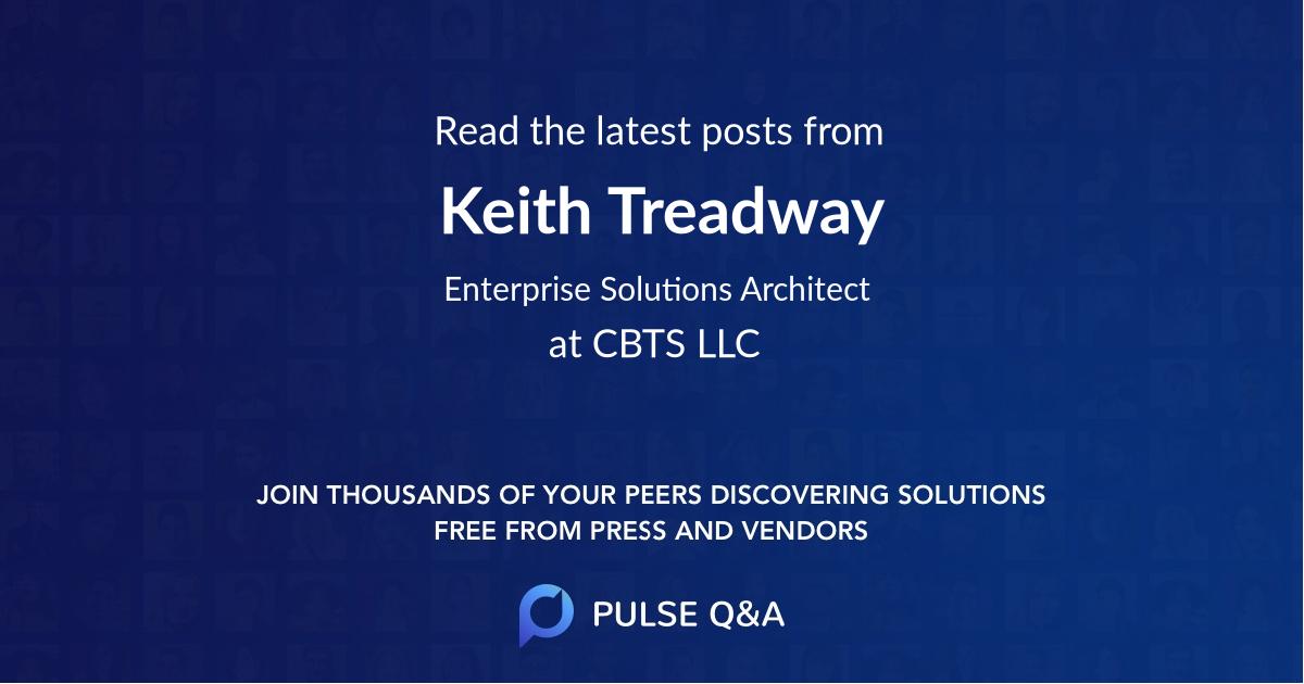 Keith Treadway