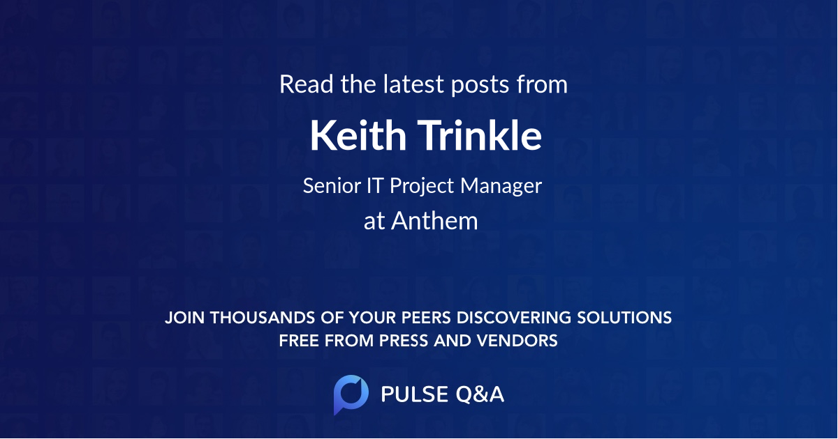 Keith Trinkle