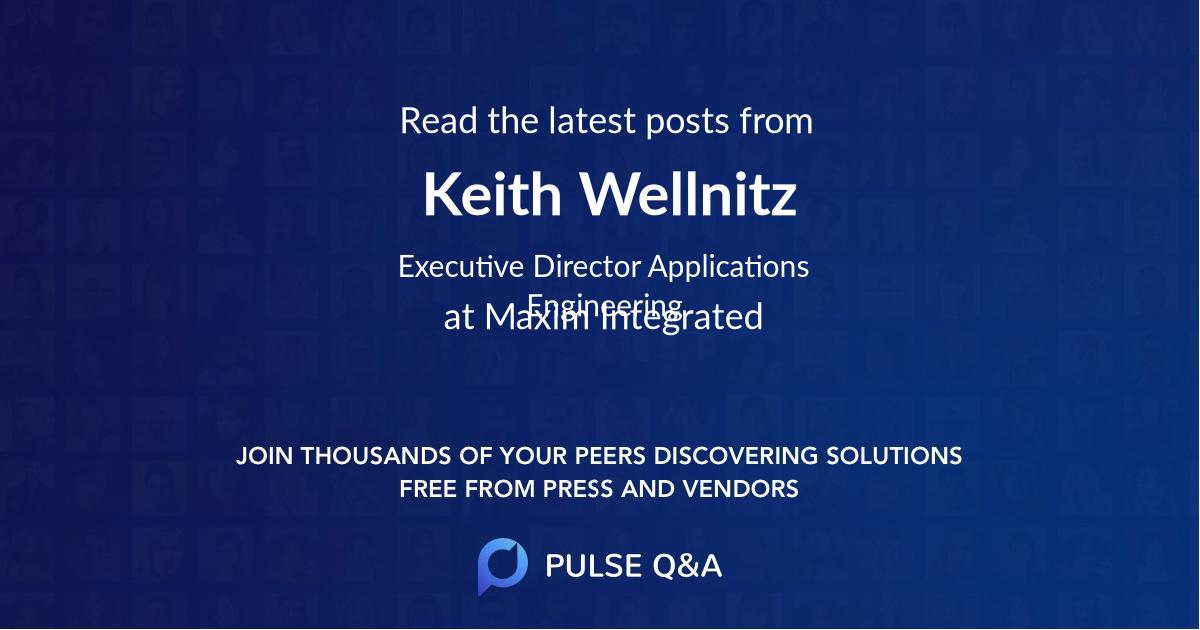 Keith Wellnitz