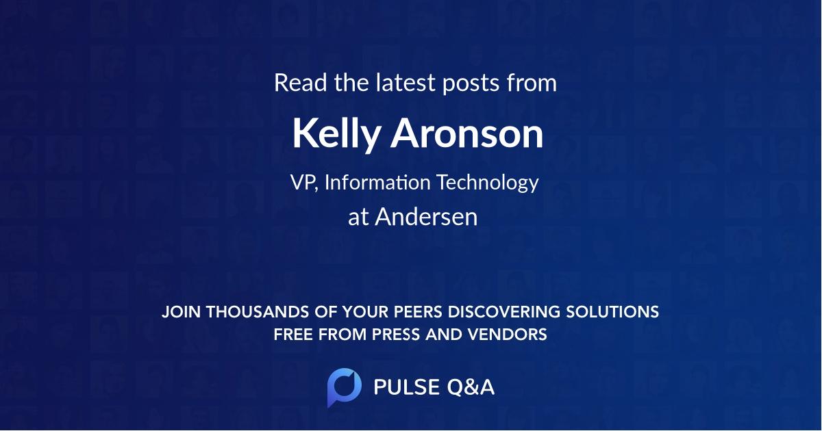 Kelly Aronson