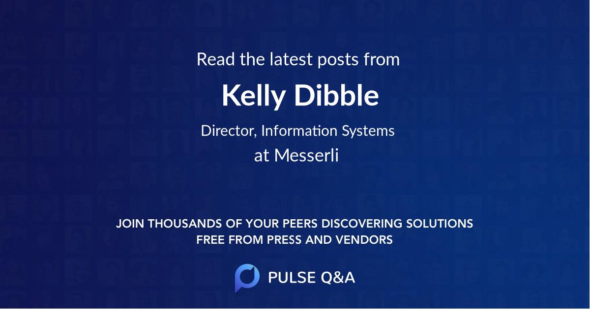Kelly Dibble