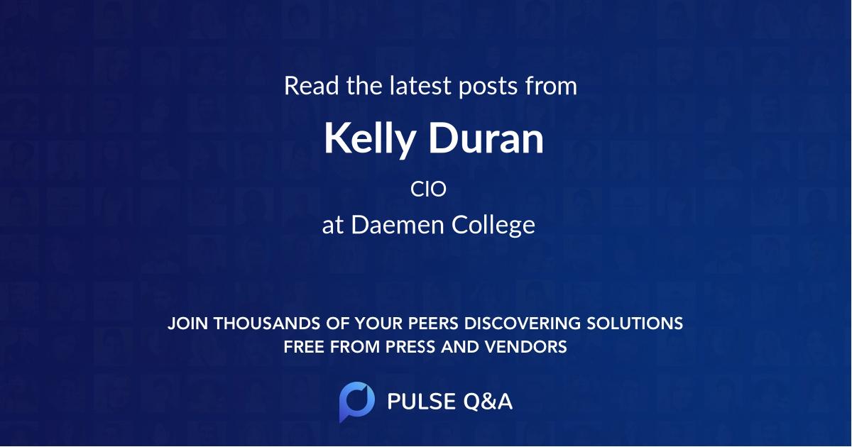 Kelly Duran