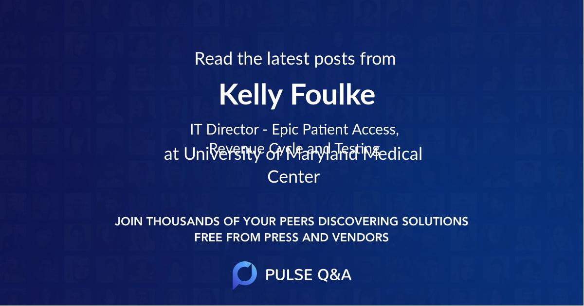 Kelly Foulke