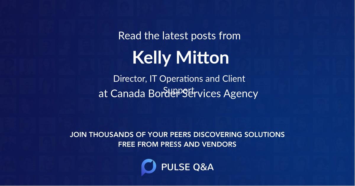 Kelly Mitton