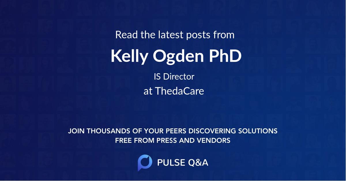Kelly Ogden PhD