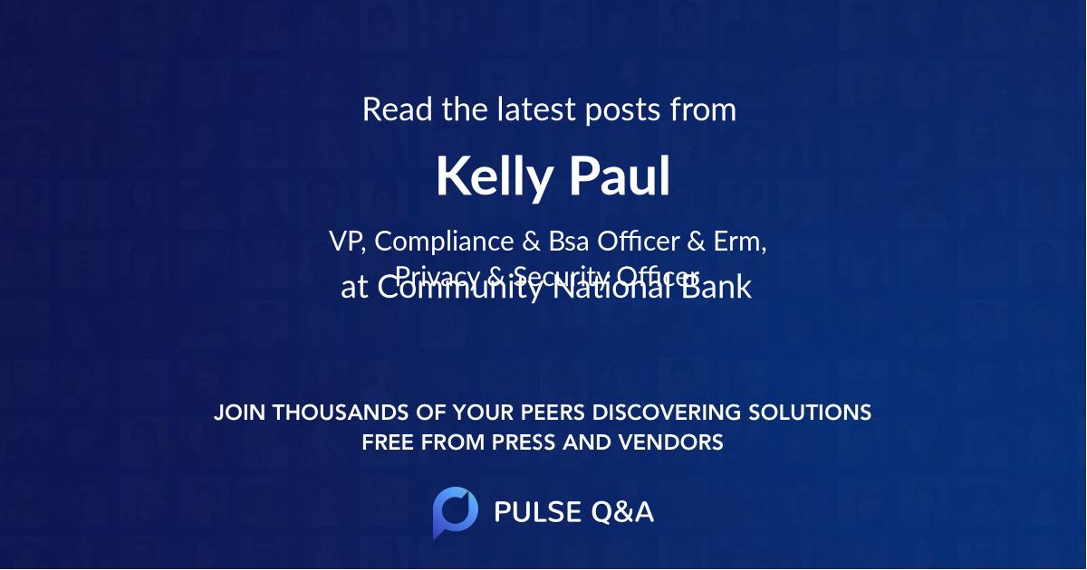 Kelly Paul