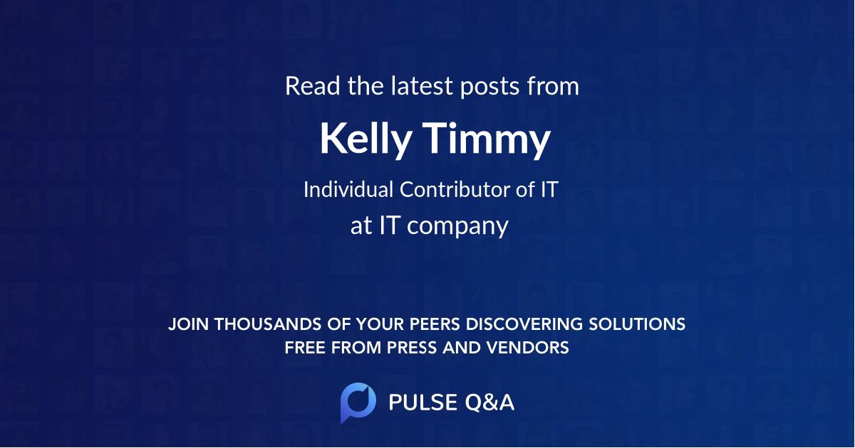 Kelly Timmy