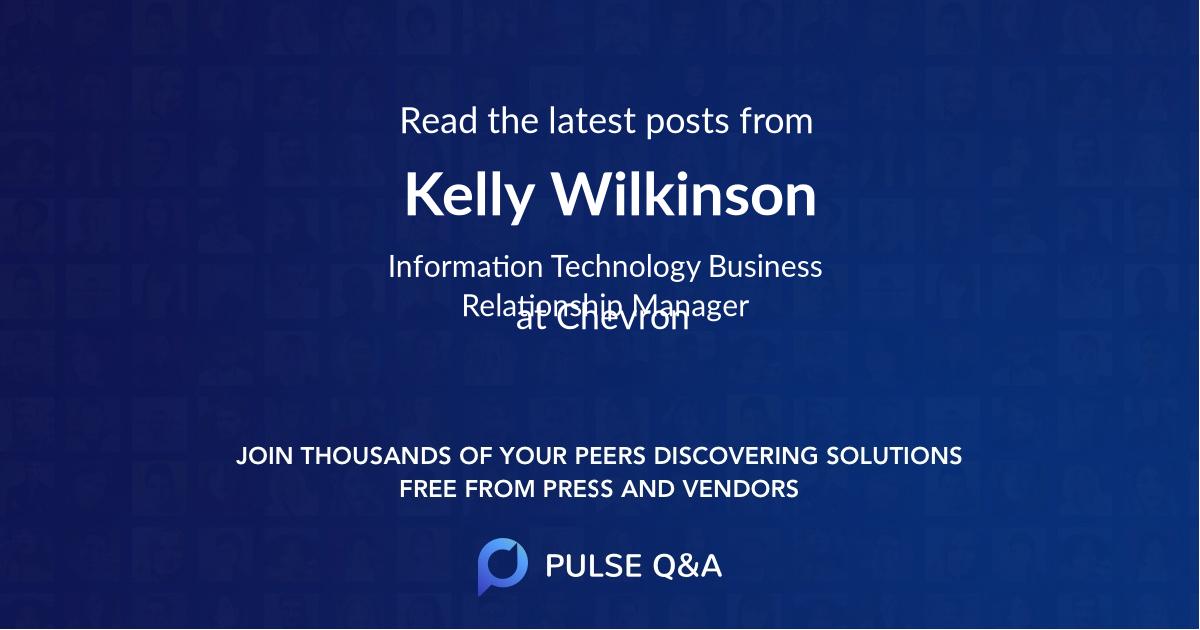 Kelly Wilkinson