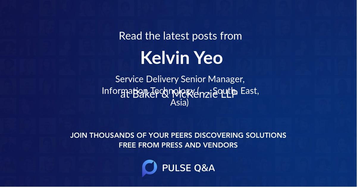 Kelvin Yeo