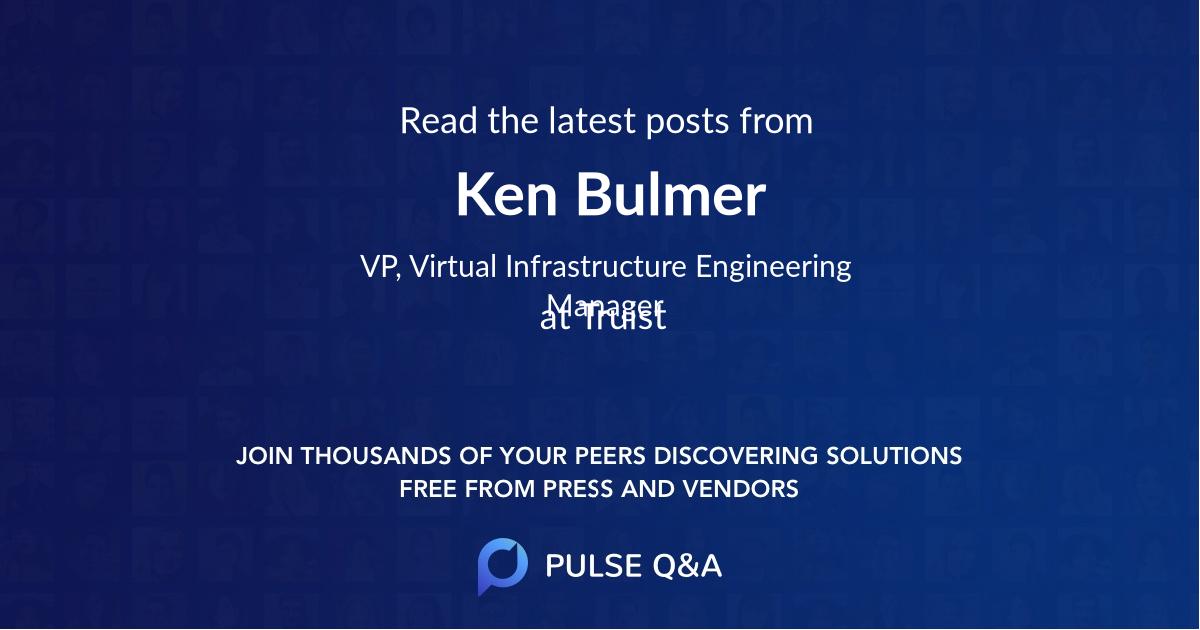 Ken Bulmer