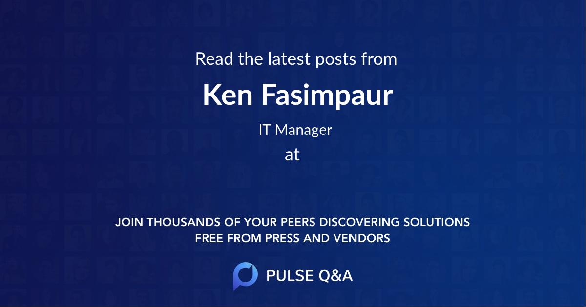 Ken Fasimpaur