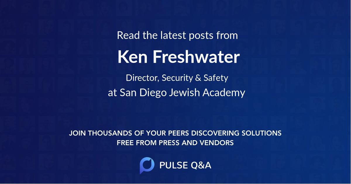 Ken Freshwater