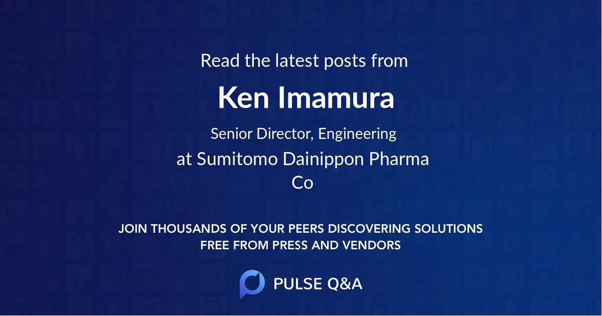 Ken Imamura