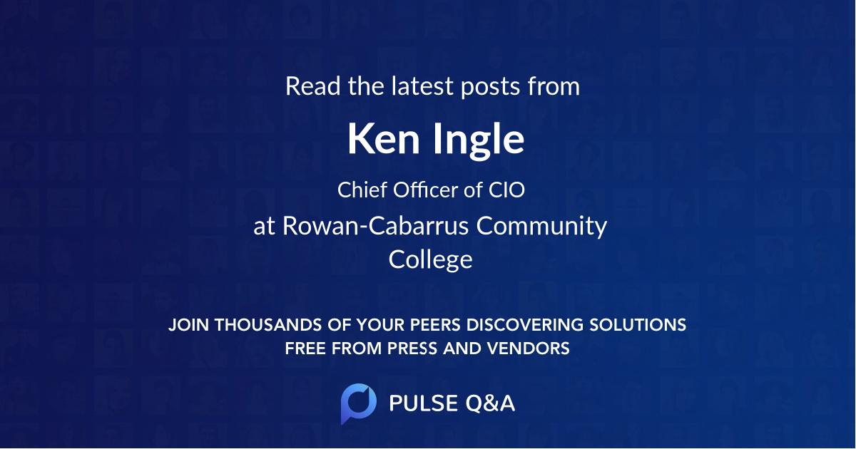 Ken Ingle