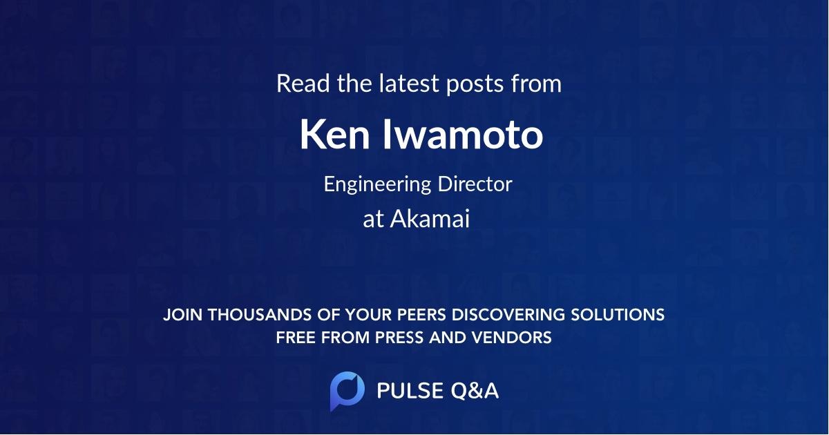 Ken Iwamoto