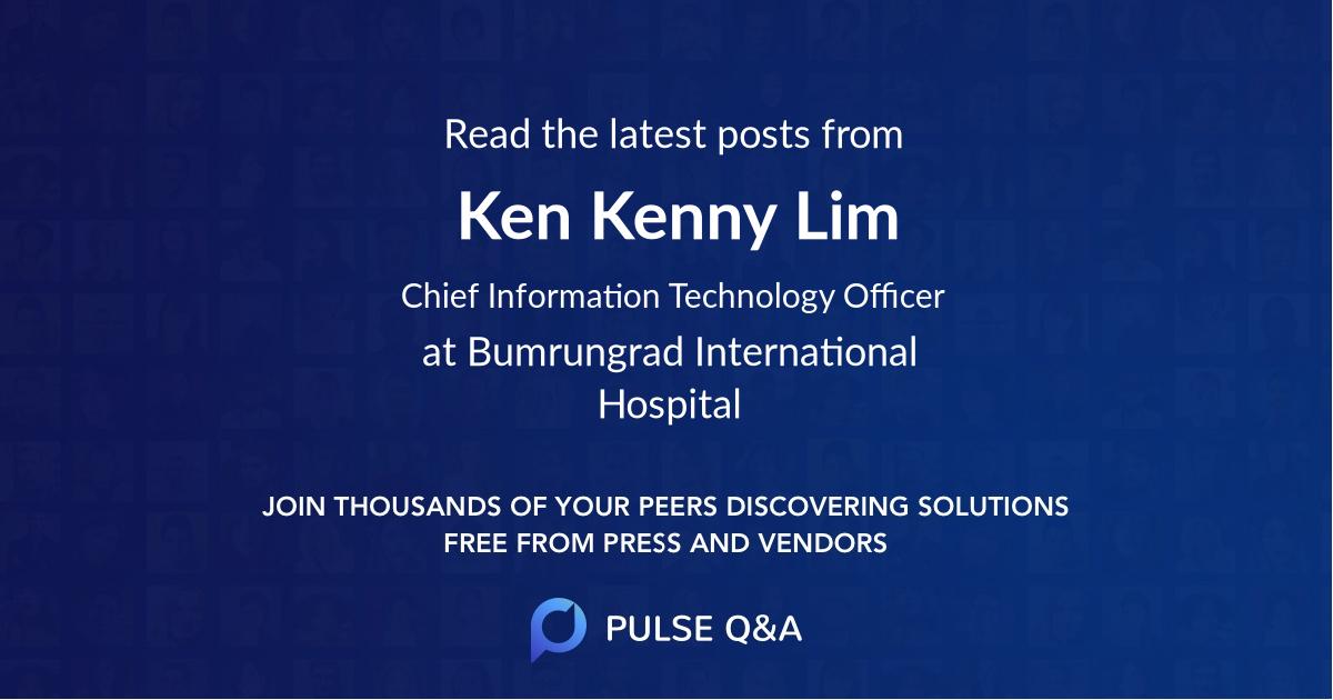 Ken Kenny Lim