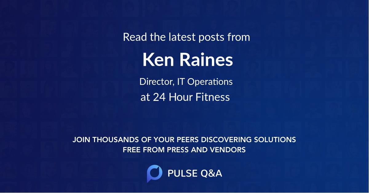Ken Raines