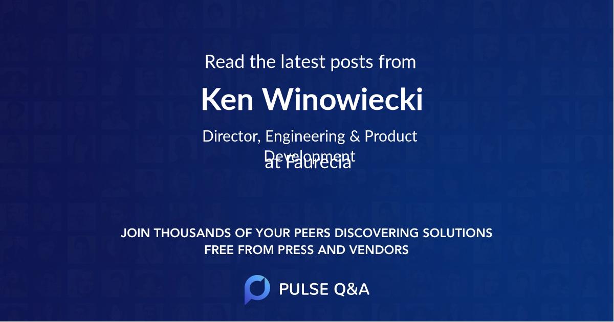 Ken Winowiecki