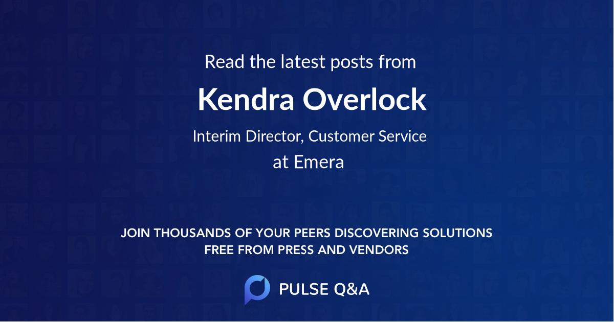 Kendra Overlock