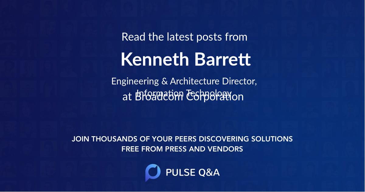 Kenneth Barrett